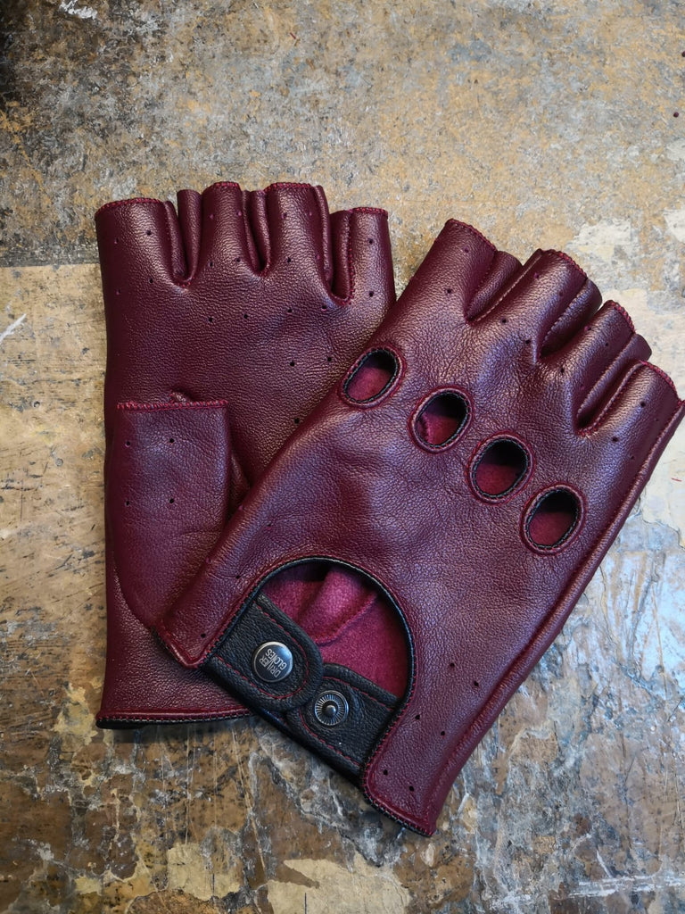 Bordeaux Women Leather Gloves - 96.014.04