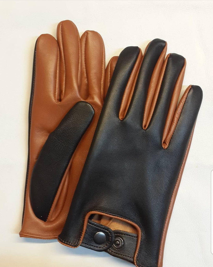 Ginger Men Leather Gloves - 96.017.19