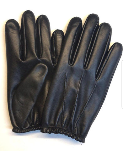 Black Men Leather Gloves - 96.022.17