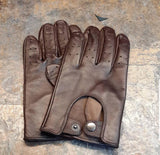 Brown Men Leather Gloves - 96.030.09