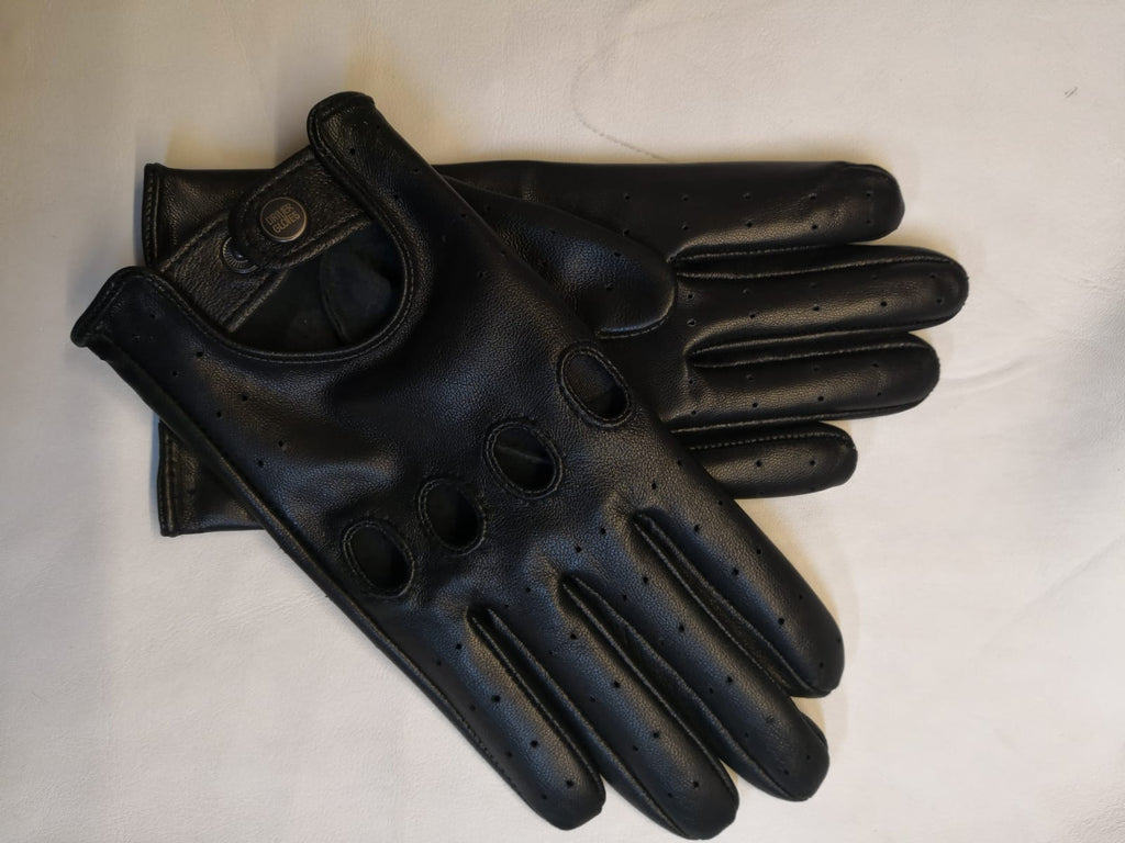 Black Women Leather Gloves - 96.050.17