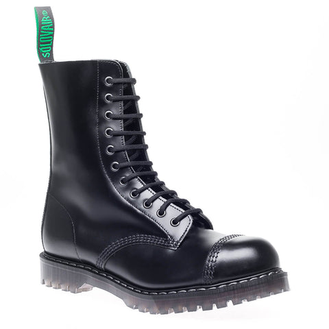 Black 11-eye Derby Boot
