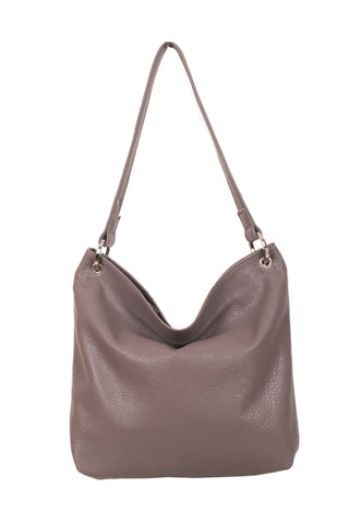 Hesta Soft Truffle Leather