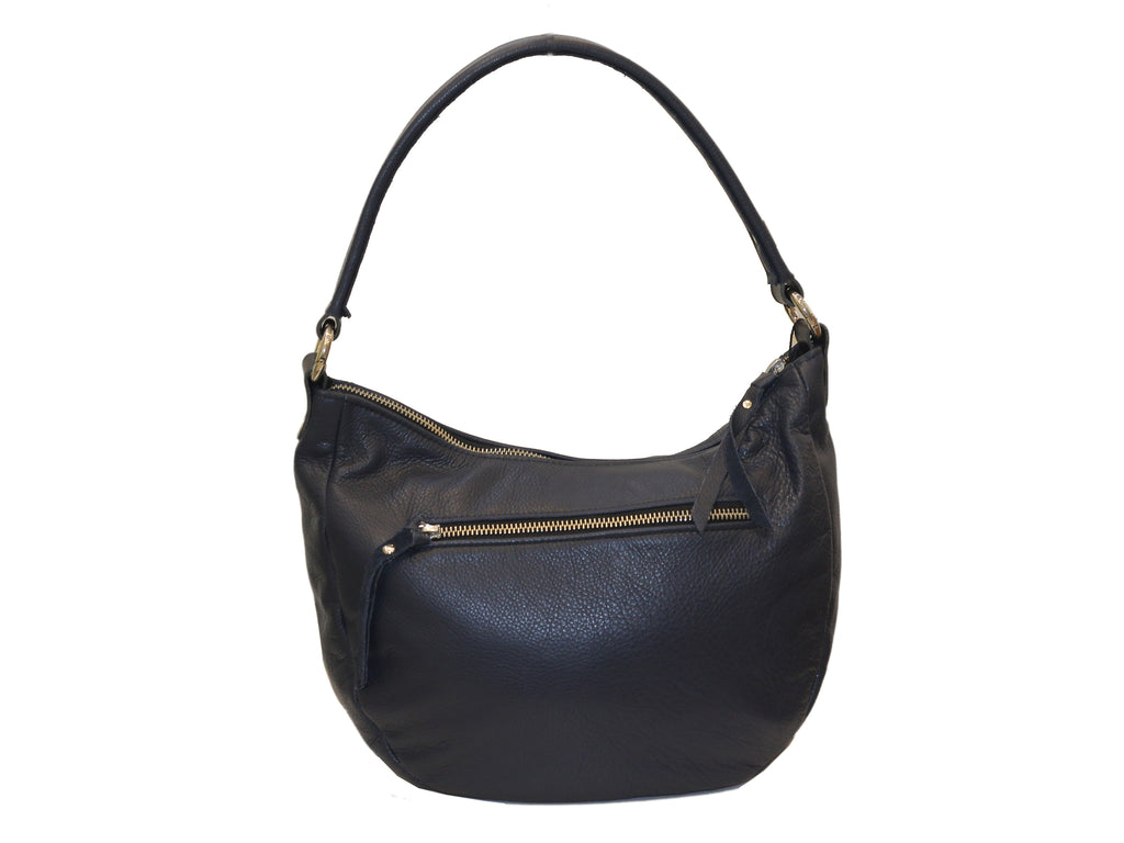 Luna Navy Leather