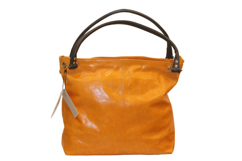 Coxley Orange Leather