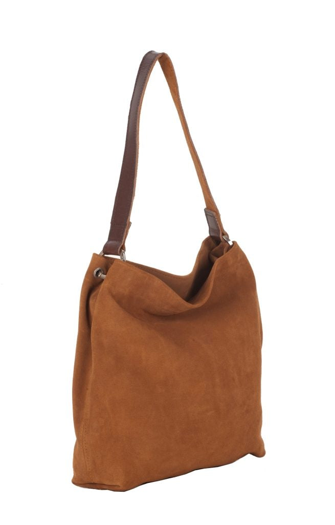 Dillie Ginger Suede