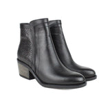 Black Women Leather Boots - 9.022.18