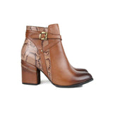 Brown Women Leather Boots - 9.015.19