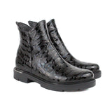 Black Women Leather Boots - 5.050.29