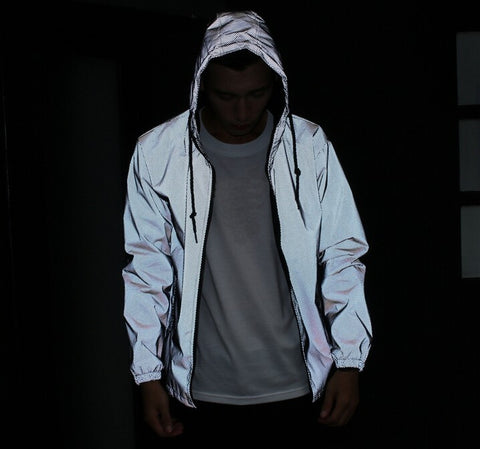 3M Reflective Zip Up Jacket