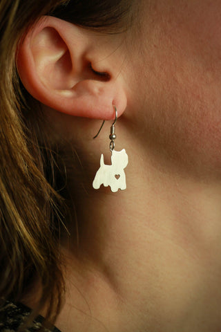 FREE Yorkie Earrings