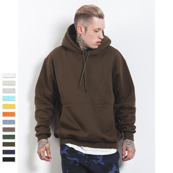 Kostorm Spring Thick Fleece Hoodies