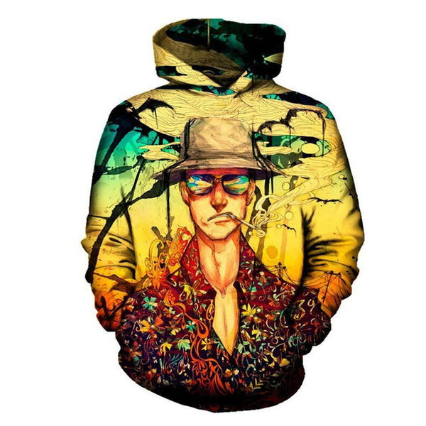 Fear and loathing Rick Hooded Sweatshirt - Kostorm