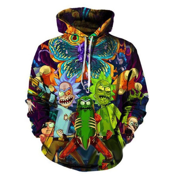 Rick Wish Hooded Sweatshirt - Kostorm
