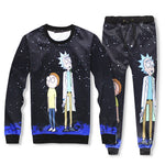 Rick and Morty Starry sky Sweatshirt - Kostorm