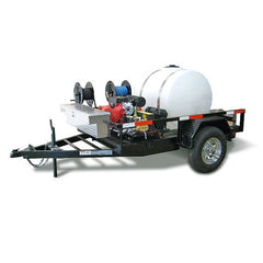 Cold Water Pressure Washer Trailer Rental
