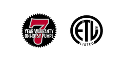 Hotsy Cold Water Pressure Washer Warranty Information