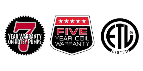 Hotsy Warranty Information