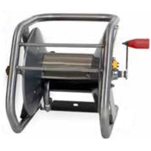 Hotsy 9.801-777.0 Stackable Stainless Steel High Pressure Hose Reel - 100ft