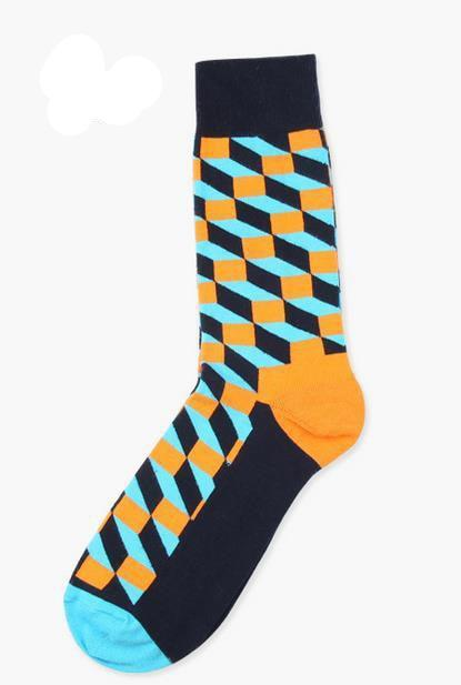 Gradient Cotton Socks