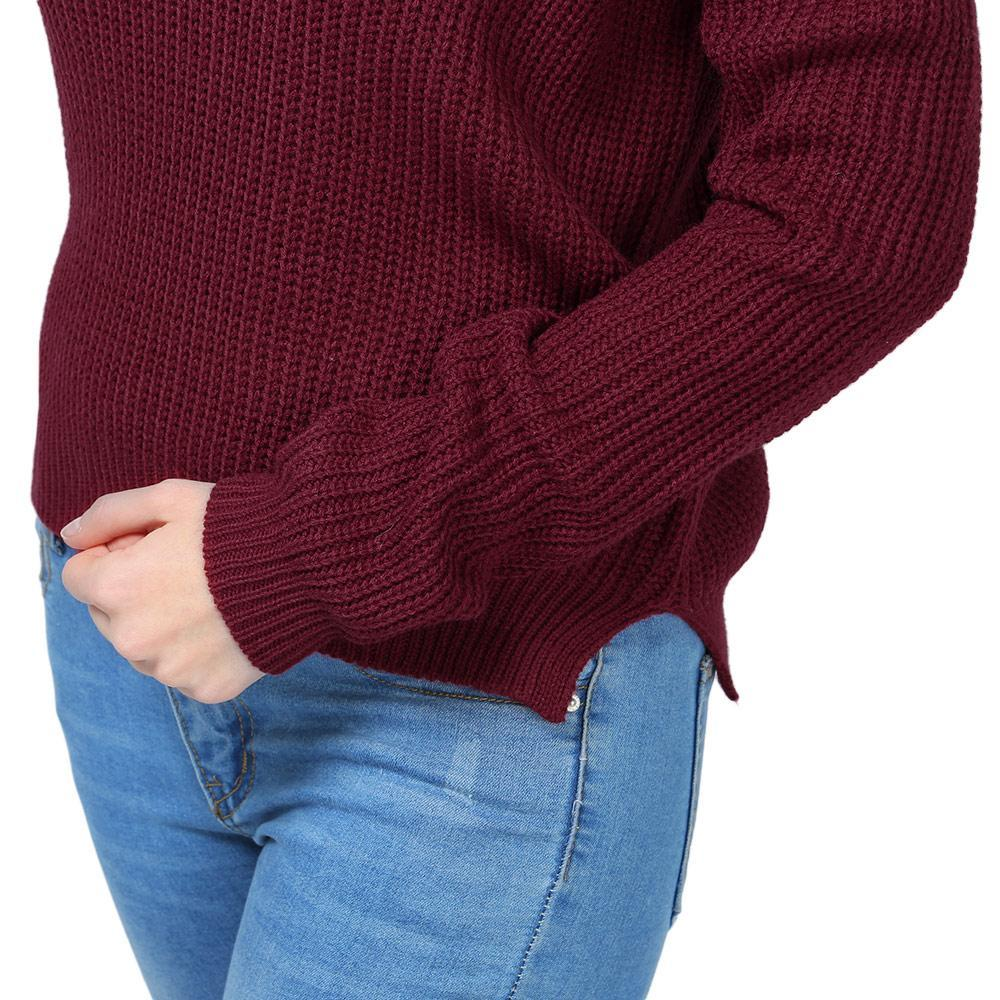 Boat Neck Wine Red Sweater GNTLMEN Australia GNTLMEN-JOSHBRNJAC