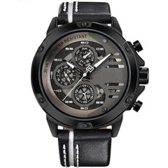 'CHRONO MULTI LEVEL' Luxury Chrono Watch black white GNTLMEN Australia GNTLMEN-JOSHBRNJAC
