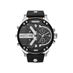 'GENUINE' DIESEL MR. DADDY 2.0 D7313 Black (band) Black (case) Silver (inner) GNTLMEN Australia Diesel™ Watches GNTLMEN-JOSHBRNJAC
