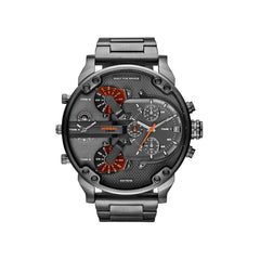 'GENUINE' DIESEL MR. DADDY 2.0 D7315 Gun Metal(band) Gun Metal(case) Red (inner) GNTLMEN Australia Diesel™ Watches GNTLMEN-JOSHBRNJAC