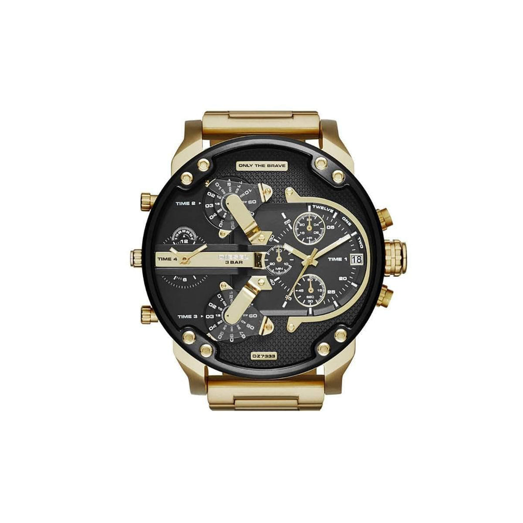 'GENUINE' DIESEL MR. DADDY 2.0 D7333 Gold (band) Gold (case) Black(inner) GNTLMEN Australia Diesel™ Watches GNTLMEN-JOSHBRNJAC