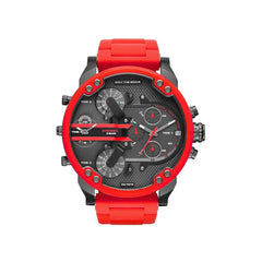 'GENUINE' DIESEL MR. DADDY 2.0 D7370 Red (band) Red (case) Black (inner) GNTLMEN Australia Diesel™ Watches GNTLMEN-JOSHBRNJAC