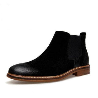 Kanye West Leather Chelsea Boots - Brown Collection Black / 6.5 GNTLMEN Australia GNTLMEN-JOSHBRNJAC