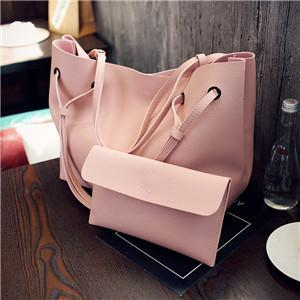 Oversize Double Strap Tote With Pouch Pink / (30cm<Max Length<50cm) GNTLMEN Australia GNTLMEN-JOSHBRNJAC