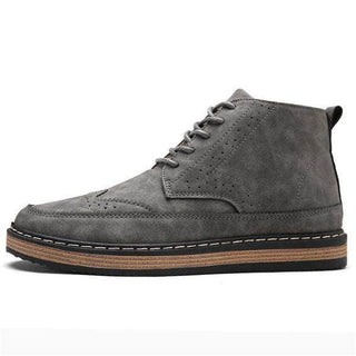 Patterned Suede Leather Boots GNTLMEN Australia GNTLMEN-JOSHBRNJAC