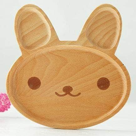 Rabbit Wooden Tray Cute Rabbit GNTLMEN Australia GNTLMEN-JOSHBRNJAC