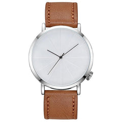 'ROME' Leather Wristwatch Brown GNTLMEN Australia GNTLMEN-JOSHBRNJAC