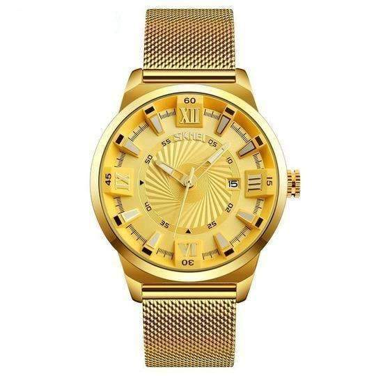 'ROYALTY' Luxury Gold Quartz Waterproof Wristwatch All Gold GNTLMEN Australia ROYALTY GNTLMEN-JOSHBRNJAC