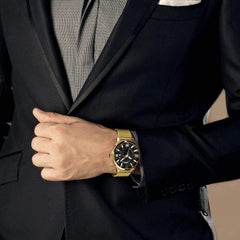 'ROYALTY' Luxury Gold Quartz Waterproof Wristwatch GNTLMEN Australia ROYALTY GNTLMEN-JOSHBRNJAC