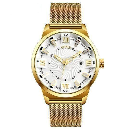 'ROYALTY' Luxury Gold Quartz Waterproof Wristwatch White gold GNTLMEN Australia ROYALTY GNTLMEN-JOSHBRNJAC