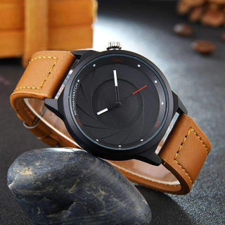 'STYLISH' Modern Shutter Style Casual Watch GNTLMEN Australia 'STYLISH' Modern Shutter Style Casual Watch GNTLMEN-JOSHBRNJAC