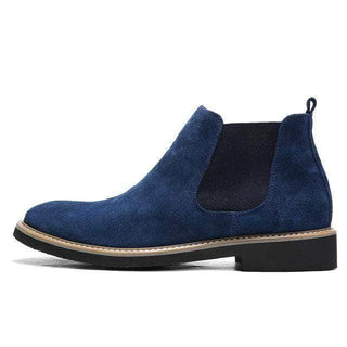 Suede Chelsea Boots - Dark Collection Blue / 5.5 GNTLMEN Australia GNTLMEN-JOSHBRNJAC