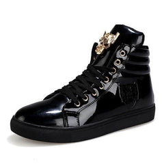 Tiger High Rise Shoes Black / 6.5 GNTLMEN Australia GNTLMEN-JOSHBRNJAC