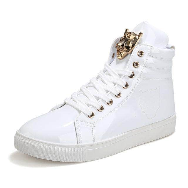Tiger High Rise Shoes White / 6.5 GNTLMEN Australia GNTLMEN-JOSHBRNJAC