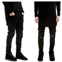 Ultra Cotton - Ripped Black / Denim Jeans GNTLMEN Australia GNTLMEN-JOSHBRNJAC