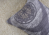 DaDa Bedding Classical Grey Mosaic Medallion Reversible Quilted Bedspread Set