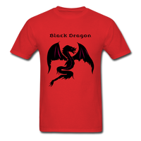Black Dragon T-shirt - red
