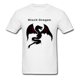Black Dragon T-shirt - white