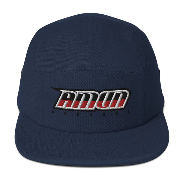Amun Apparel Blue & Red Five Panel Cap