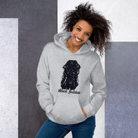 Black Goddess Hooded Sweatshirt