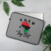 Know Thy Self Laptop Sleeve - 13in. & 15 in