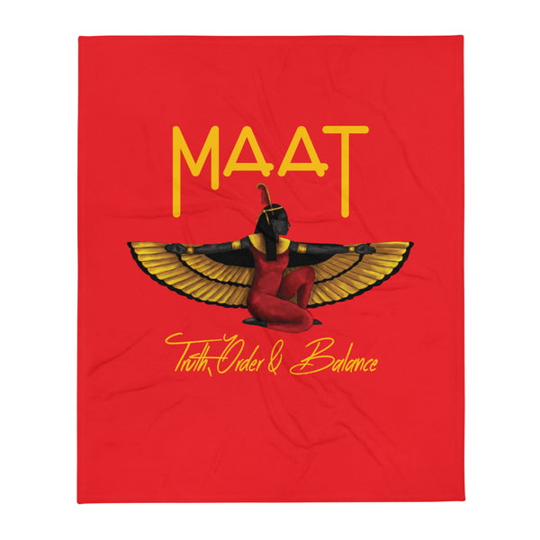 Maat Throw Blanket  50x60